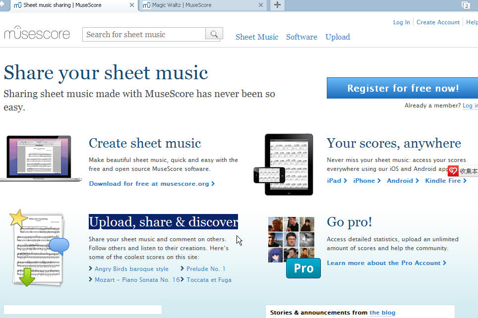 The information about MuseScore in 3 years