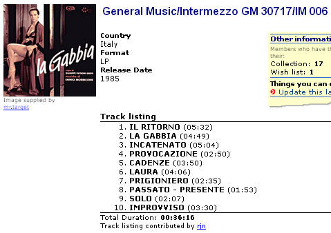 General Music/Intermezzo GM 30717/IM 006