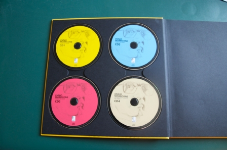 Big memory of the manual + 4 CD (I bought all the varieties of CD)