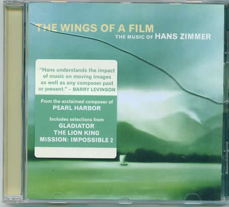"Hans Zimmer album--""The wings of a film"""