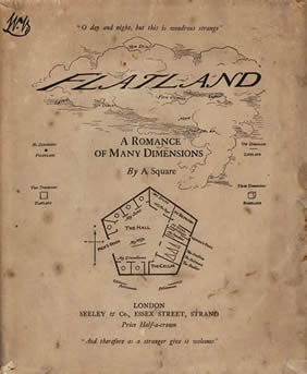 Cover of Flatland: a romance of many dimensions  EC85 Ab264 884f Houghton Library, Harvard University