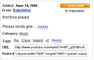 """someone is playing """"The Crave"""" from the """"Legend of 1900"""""""