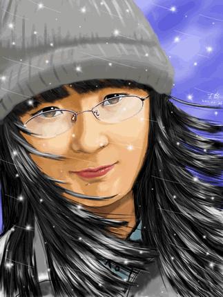 中国(香港)朋友 WangLu的画