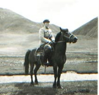 A cavalry officer of the PLA in 1968