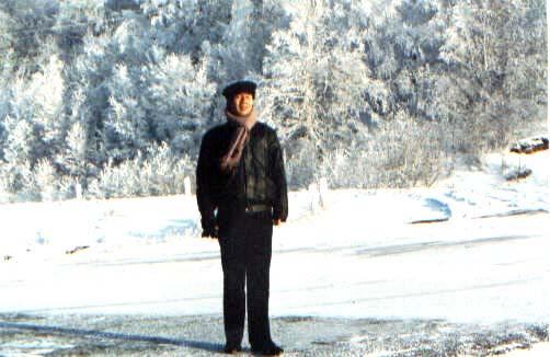 1991年在贝加尔湖畔的留影 lajiao