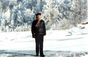 In Russian lake Baikal in 1991