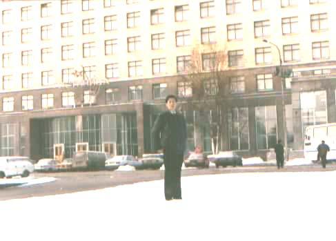 这是我们下榻的列宁格勒的俄罗斯宾馆 lajiao