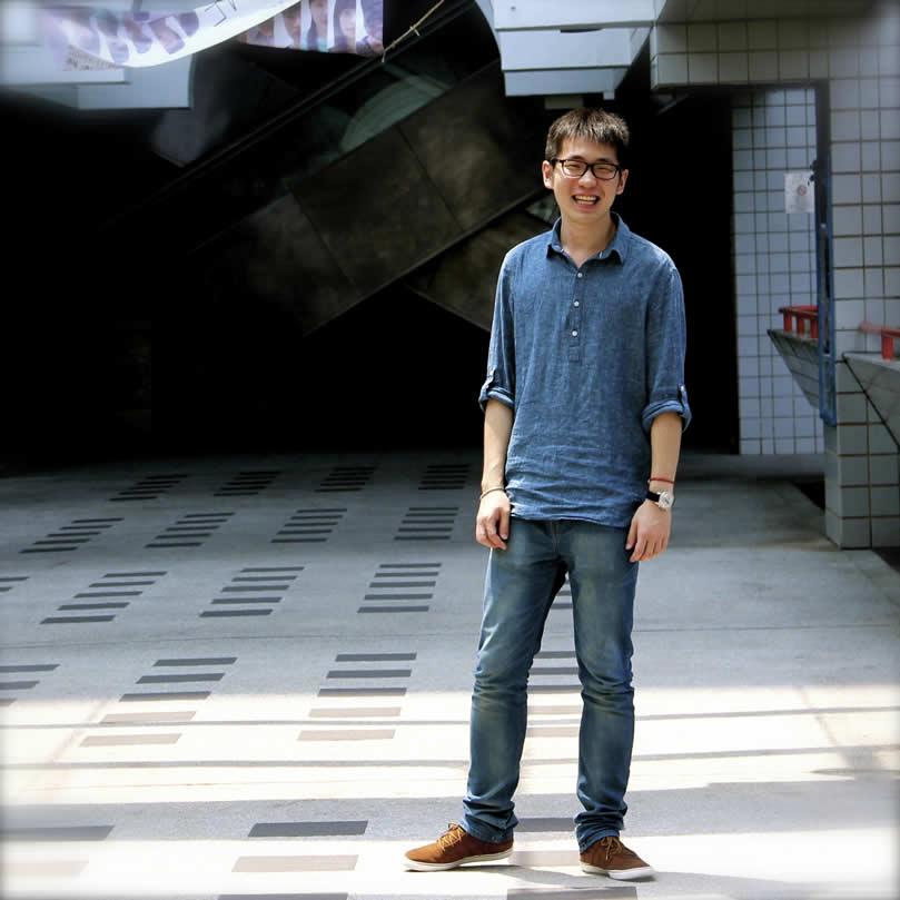 Tim Han in Hongkong