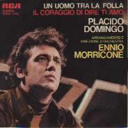 The covers of Morricone's CD soundtrack