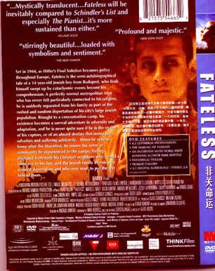 Fateless/Sorstalanság (2005)
