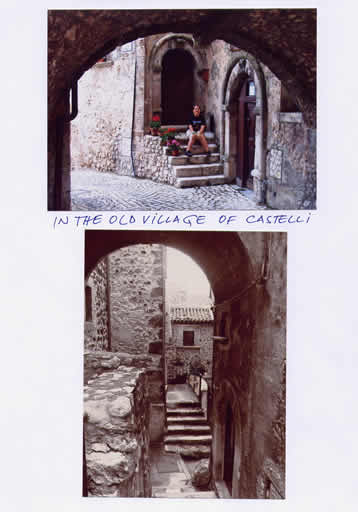In the old village of castelli