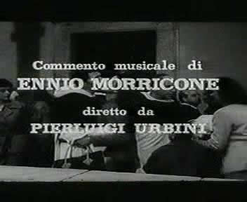 In start of the movie, Composer Ennio Morricone was shown. This is his maiden work for movie