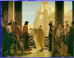"Ecce Homo(""瞧,这个人!) Antonio Cisen创作的圣画"