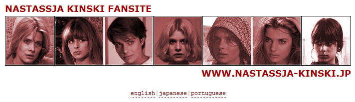 the actress Nastassja Kinski