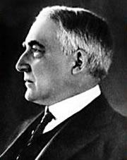 Warren G. Harding (29th president 1921-1923)