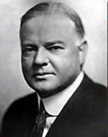 Herbert Hoover (31th president 1929-1933)