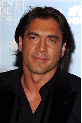 The actor: Javier Bardem