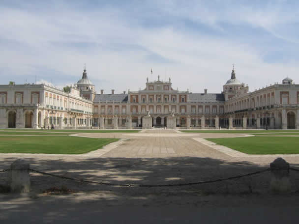 The famous Aranjuez palace  (Spain)