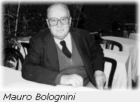 the director Mauro Bolognini