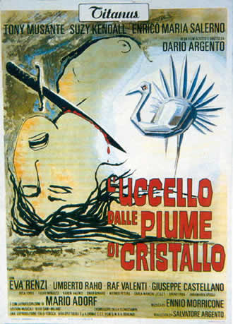 L'Uccello dalle piume di cristallo/The Bird with the Crystal Plumage (1970)