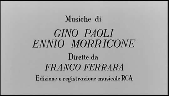 """he movie """"Prima della rivoluzione"""" composed by Gino Paoti and Ennio Morricone"""
