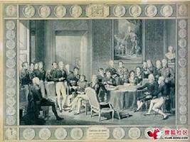 Wienna meeting in 1814(here)