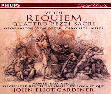 《威尔第:安魂曲,圣乐小品四首》(Verdi - Requiem ・ Quattro pezzi sacri)PHILIPS 2CDs