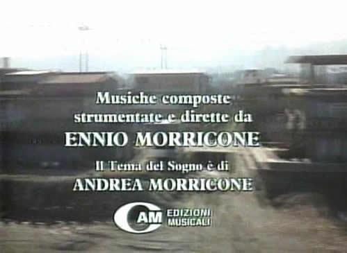 "影片显示""Stanno tutti bene""由莫里康内谱曲 (00:01:15)"