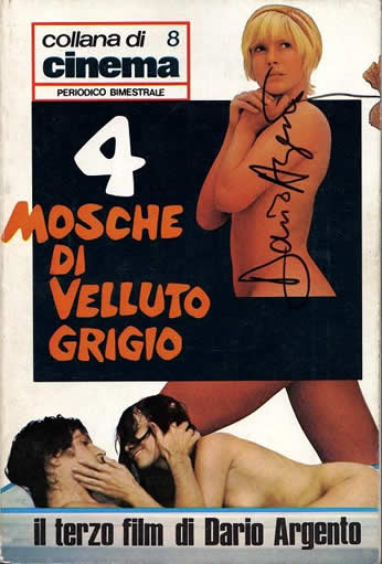 4 (Quattro)mosche di velluto grigio/Four Flies on Grey Velvet (71-10)
