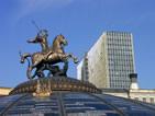 莫斯科近期风景人文照片