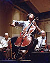 The most famous cello player in the world of today YO-YO MA