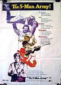 Un Esercito Di Cinque Uomini / The 5 Man Army / 五人军队