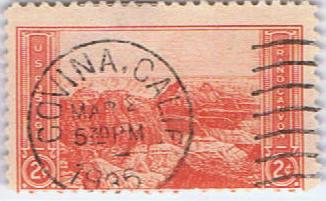 老柴发来的相关邮票-05 大峡谷