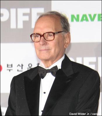 莫里康在第12届釜山国际电影节