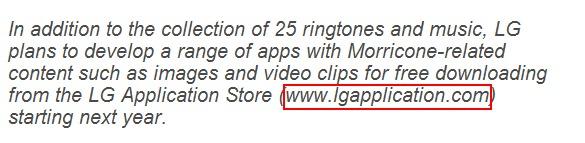 附件03 瘾科技提到了LG会在其官方应用商店里发布一款与大师有关的应用.