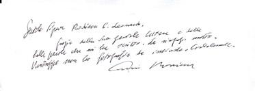 莫里康签名的资料
