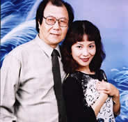 The Chinese famous specialists and pioneer for research on film music  The married couple Mr.Yang dalin and Ms.Yang dong