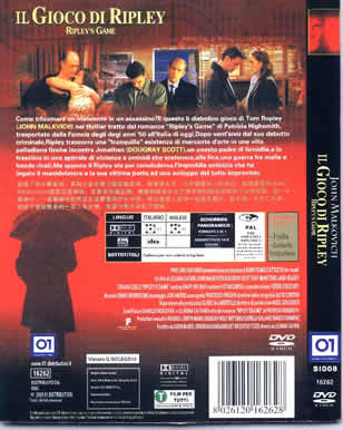 Ripley's game/ Il Gioco di Ripley