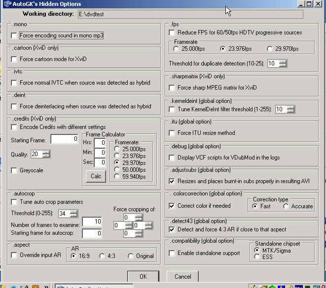 制作DVDRIP电影的高级傻瓜软件AUTOGK