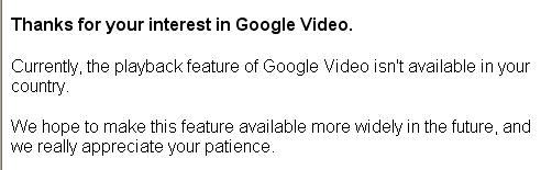 Google 视频的收看,下载及其它