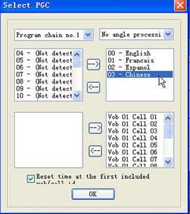 """VobSub Configure"""" 软件"""
