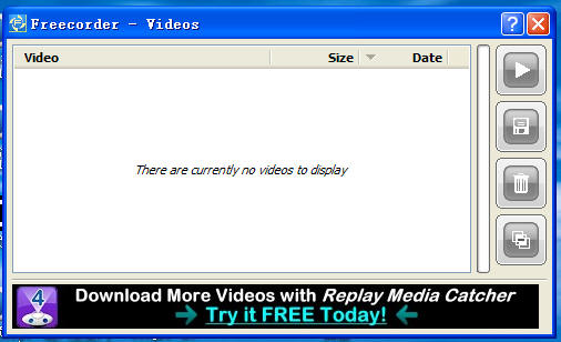 Freecorder Video History,