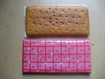 006年在南京买到的姜饼饼干