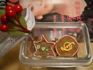 I have finally bought the Christmas Lebkuchen in the tradition !