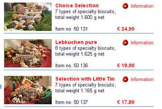 Lebkuchen包装盒,从上面找到了它的生产厂家,E. Otto Schmidt & Co.然后在网上输入 Schmidt,终于找到了这家德国的食品公司 http://lebkuchen-schmidt.com/