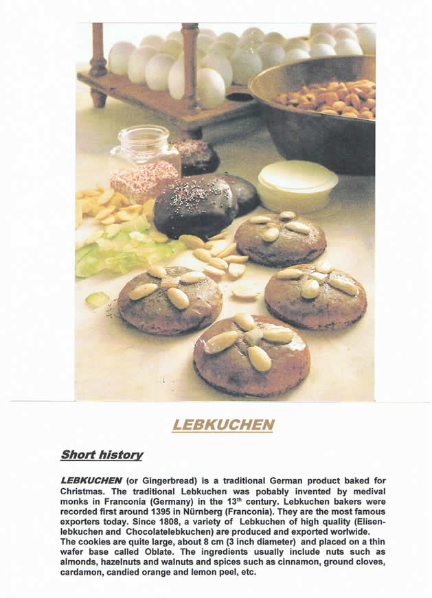 LEBKUCHEN (or Gingerbread)