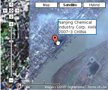 This is a former famous chemical industry base in China.