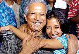 A banker to the poor -- 2006 Nobel Winner Dr.Muhammad Yunus (Bangladesh)