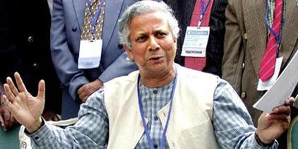 A economist to poor Muhammad Yunus
