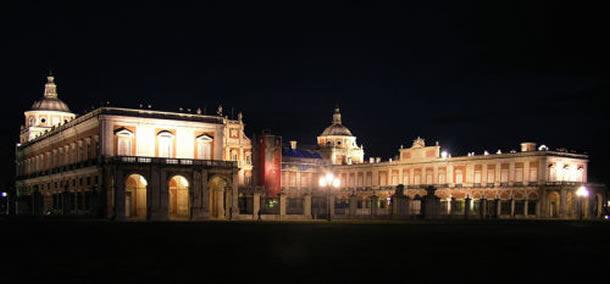 阿兰胡埃斯王宫夜景